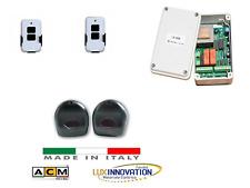 kit Centrale +2 Telecomandi + Fotocellule automazione di serrande