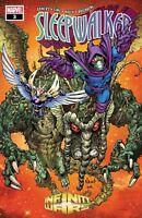 Infinity Wars Sleepwalker #3 Marvel Comic 1st Print 2018 unread NM