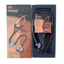 "3M Littmann Master Cardiology Stethoscope 27"" Dark Olive Green Tube Smoke 2182"