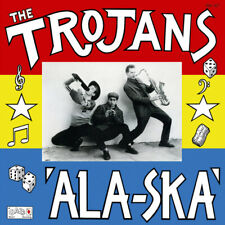THE TROJANS ALA-SKA LP (blue vinyl)