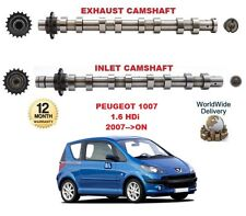 FOR PEUGEOT 1007 1.6 HDi 2007-->ON NEW INLET & EXHAUST ENGINE CAMSHAFT
