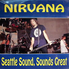 "NIRVANA - Seattle Sound, Sounds Great 1992 2 LP 12"" SIGILLATO RARISSIMO"
