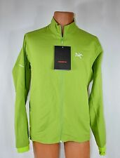 New Men's Arc'Teryx Accelero Jacket Vert Green Size M MSRP $149