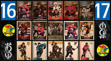 2016-17 Panini 16-17 NHL Hockey Stickers Complete Set of 503 Connor McDavid RC