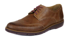 Donald J Pliner Men's Brown Edd Perforated Leather Oxford Shoes Ret $225 New
