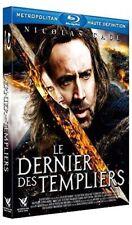 """BLU-RAY """"Le Dernier des templiers"""" Nicolas Cage  NEUF SOUS BLISTER"""