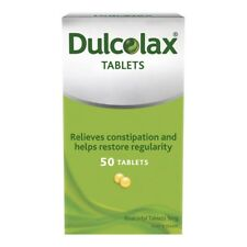 Dulcolax 5mg Tablets 50 - Relieves Constipation And Helps Restore Regularity.