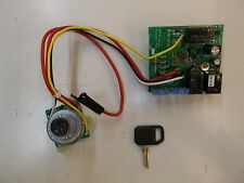 NEW JOHN DEERE IGNITION SWITCH MODULE w/ KEY 345,LX255,GT225,GX325,X475,X585