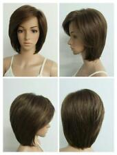 SALE New! Natural Light Brown mix Short Straight Laura Wig/wigs LTD Edition