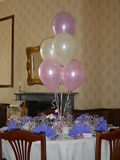 1 x 5 Latex Balloon Bunch Bouquet Cluster Kit DIY - BIRTHDAY WEDDING BABY ETC