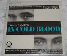 IN COLD BLOOD (Quincy Jones) rare original factory sealed promo stereo lp (1968)