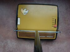 Vintage Mid Century Bissell Apollo Carpet Sweeper 1200 Goldenrod