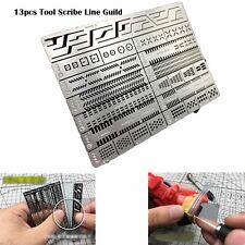 Accesorio de herramientas de modelado 13 un. herramienta de artesanía punta marcadora Scribe línea Guild Board AJ0090