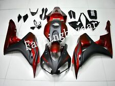 Fit for CBR1000RR 2006 2007 Candy Red Black ABS Injection Mold Fairing Kit