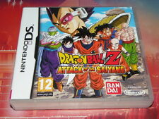 jeu rare ds dsi 2ds 3ds xl dragon ball z dragonball attack of the saiyans notice