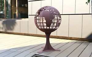 Globe FIRE PIT - BBQ - GARDEN FIREPLACE - DXF Files for CNC Laser - Plasma