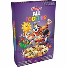 Limited Edition Kellogg's ALL TOGETHER Cereal Box Factory Sealed