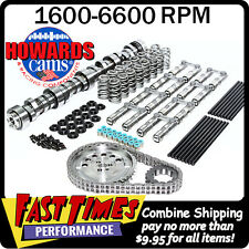 """HOWARD'S GM Chevy LS 270/275 604""""/604"""" 112° Cam Camshaft Kit w/Link-Bar Lifters"""