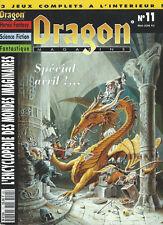DRAGON MAGAZINE #11 VF - Mai-Juin 1993