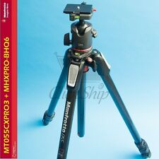 Manfrotto MT055CXPRO3 Carbon Fiber Tripod with MHXPRO-BHQ6 XPRO Ball Head