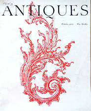 The Magazine ANTIQUES-OCT 1960 -PARIAN WARES,PEALES MUSEUM,FRENCH TOLE, SILVER