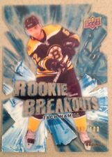 Zach Hamill UD Series 2 Rookie Breakouts 2010/11 Acetate Card#RB-3 SR#ED 009/100