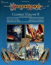 Dlc2 Classics Volume Ii Exc+! Dragonlance Module #9394 Ad&D Dungeons Dragons D&D