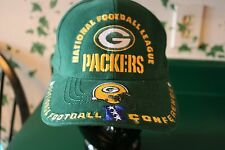 NFC GREEN BAY PACKERS AMERICAN NEEDLE EMBROIDERED ADJUSTABLE SNAPBACK CAP