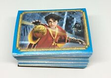 2002 Panini Harry Potter and the Chamber of Secrets Complete Set 240 Stickers