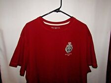 Disney Cruise Lines Pullover Tee Shirt Size XXL Red Patch On Front Says 98