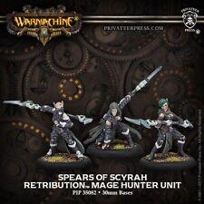 Warmachine Retribution of Scyrah Spears of Scyrah Mage Hunter Unit PIP 35082