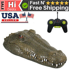 Flytec V002 2.4G Remote Control Electric Racing Boat /Crocodile Head Spoof O9A6