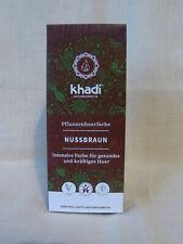 Coloration végétale naturelle Khadi Henné noisette naturel, Nussbraun, neuf
