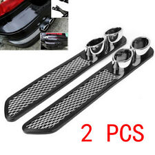 2Pcs Car Simulation Grid Double Cylinder Exhaust Pipe Tube Accessories Fabulous (Fits: Dodge Shadow)