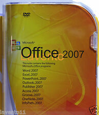 Microsoft Office 2007 Full version Word ,Excel, Etc for Windows 7, 8 & 10