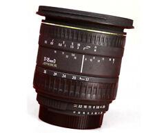 Sigma EX 17-35mm D Aspherical F2.8-4  Zoom Lens - For Nikon + Rear Lens Cap