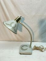 Vintage Mid Century Tole Lamp Flexable Drafting Table Lamp Architect