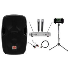 "Rockville 8"" Pro Karaoke Machine/System 4 ipad/iphone/Android/Laptop/TV/Tablet"
