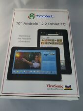"""ViewSonic 2.2 tablet PC 10"""" Android UPC-300- GTablet"""