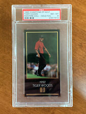1998 Grand Slam Ventures Champions of Golf Masters 63 Card Gold Foil Set PSA 8