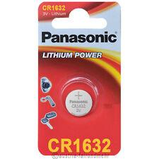 """""""2x Panasonic CR1632 Lithium POWER Batterie Knopfzelle 3V Blister"""