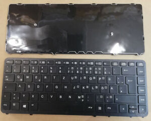 Tastatur HP EliteBook 740 750 840 850 G1 G2  ZBook 14 15U G2 Deutsch