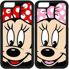 MINNIE MOUSE HUAWEI P10 P9 P8 LITE 2017 PLUS ASCEND P6 P7 MINI CARCASA FUNDA