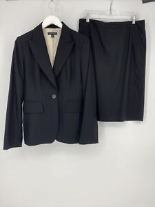 Banana Republic Of-piece Skirt Suit Workwear Sz 8