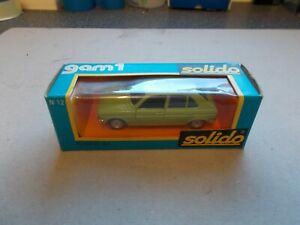 Solido Peugeot 104 die cast model 1/43