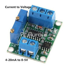 Current to Voltage 4-20mA to 0-5V Isolation Transmitter Signal Converter Module