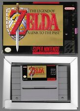 SUPER NINTENDO THE LEGEND OF ZELDA  A LINK TO THE PAST WITH BOX & MAP  WORKS NM
