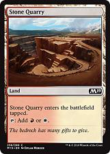Stone Quarry-Foil (256) Core Set 2019 Mtg x4 4x M19 Magic