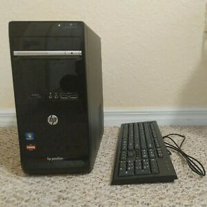 HP Pavilion p6-2136b PC Tower + Keyboard