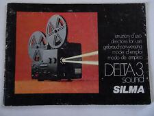SILMA DELTA 3 SOUND PROJECTOR MANUAL